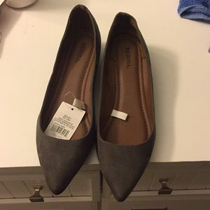 Merona grey flats size 9